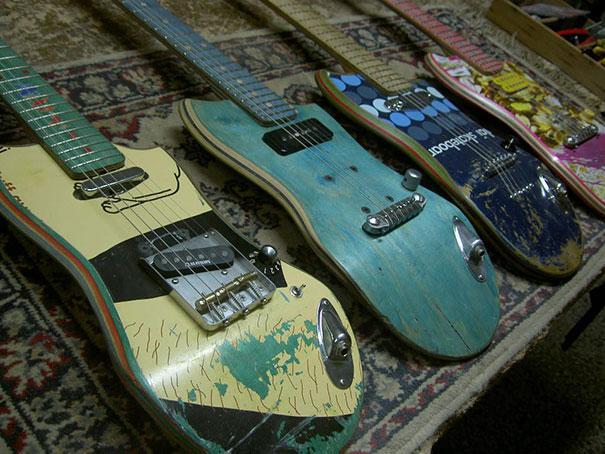 22. Skates en guitarras