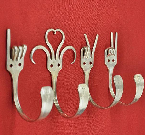 Colgante de tenedores