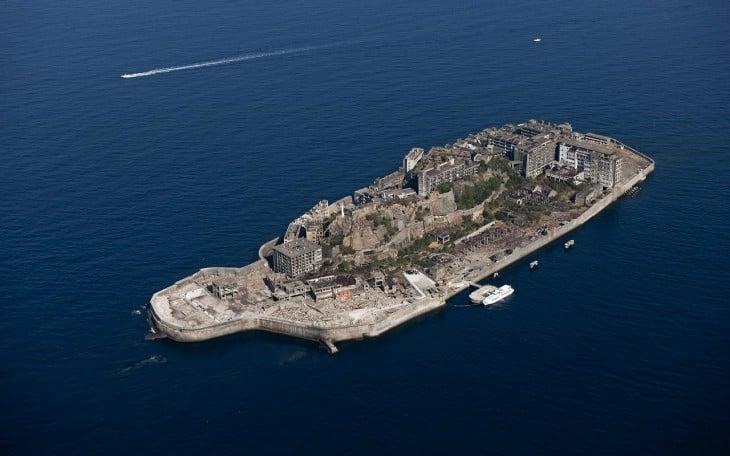 Hashima, la isla abandonada en japon