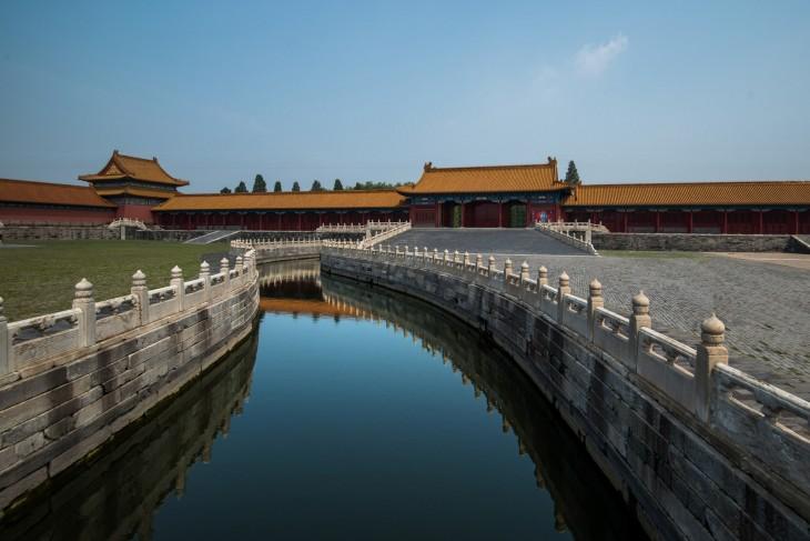 La ciudad prohibida en China