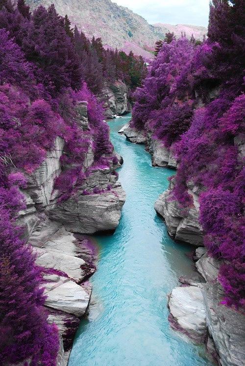 Valle de Glen britlle en Escocia