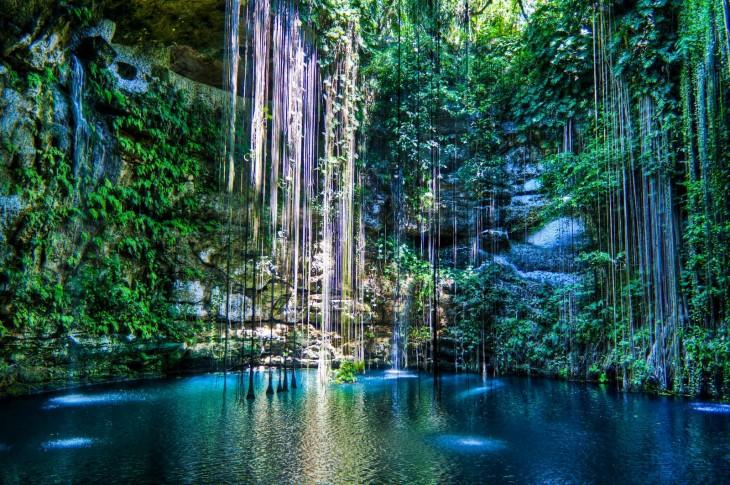 Cenotes en la Riviera Maya, México