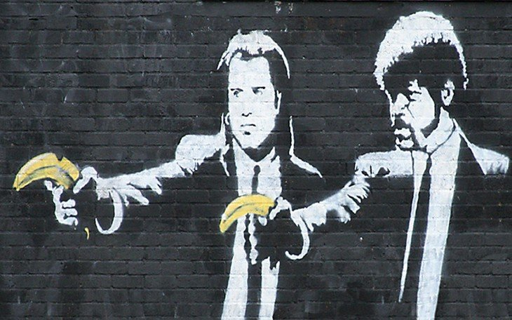 bansky 27 pulp fiction