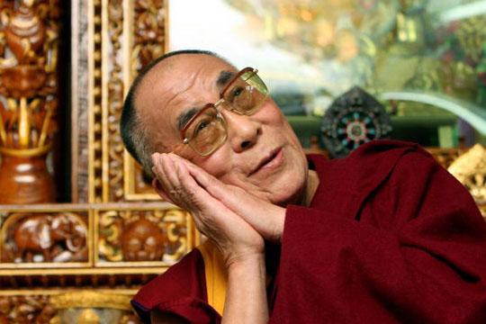 Dalai Lama Durmiendo