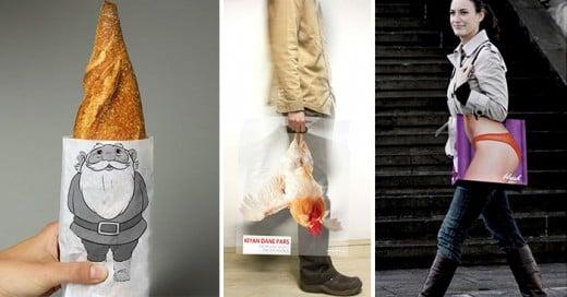 las bolsas mas creativas diseñadas jamas