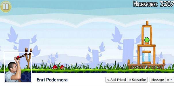 portada de facebook angry birds