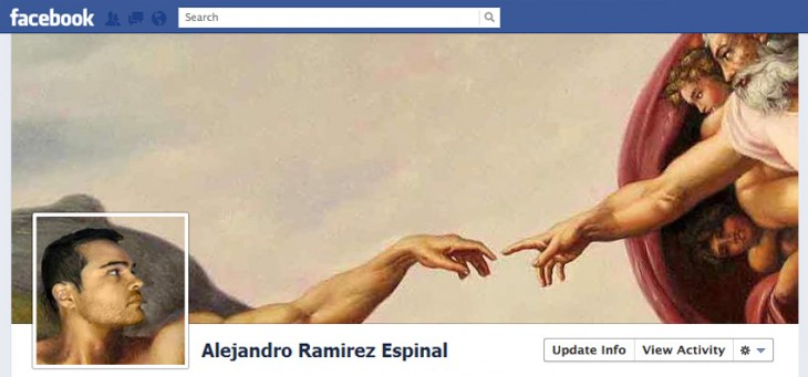 portada de facebook la creacion