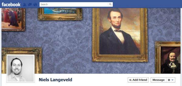 portada de facebook en el museo