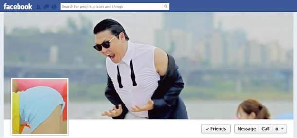 portada de facebook psy gangnam style