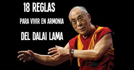 reglas de la vida del dalai lama