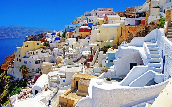 santorigina islas griegas
