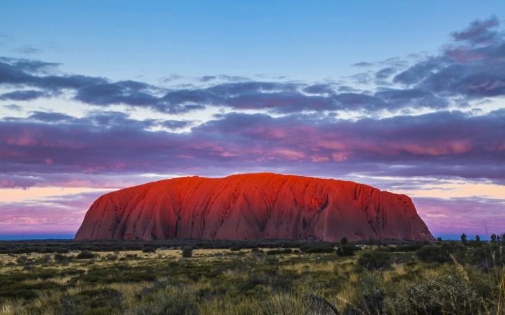 Uluru en australia