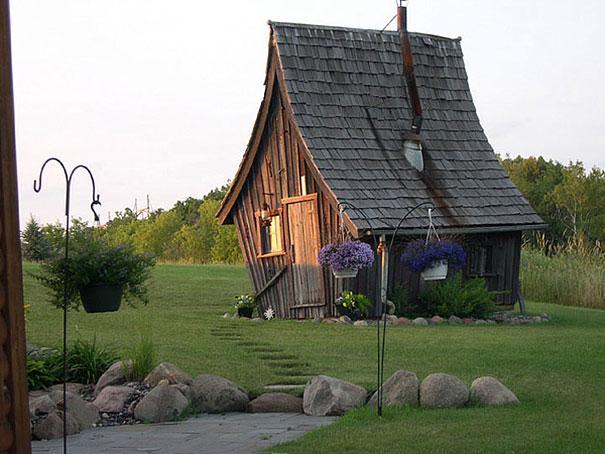 casa del oeste rustica antigua minesotta