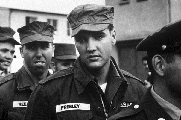 3. Elvis en la armada, 1958
