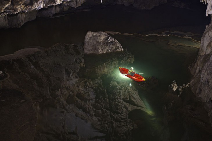 Cueva escondida en Tham Lod Thailandia