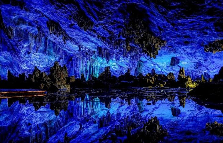 Cuevas de colores en China