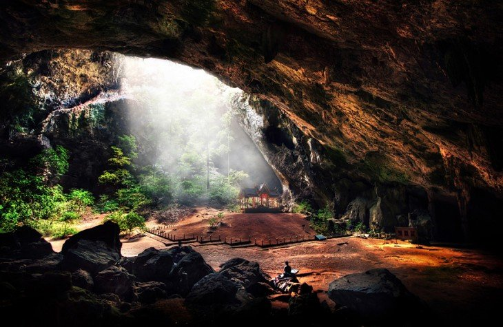 Espectacular cueva ubicada en Phraya Nakhon Cave, Thailandia