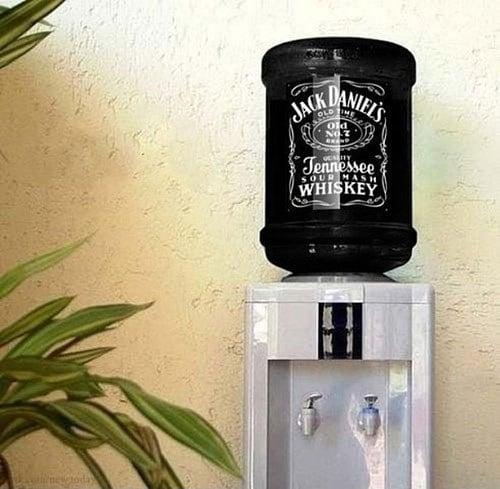 Tanque de whisky Jack Daniel