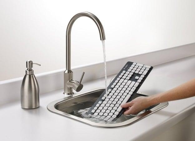 teclado a prueba de agua