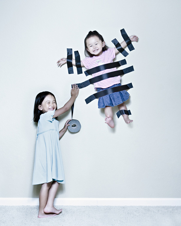 Jason Lee Janson, fotos creativas de sus hijas