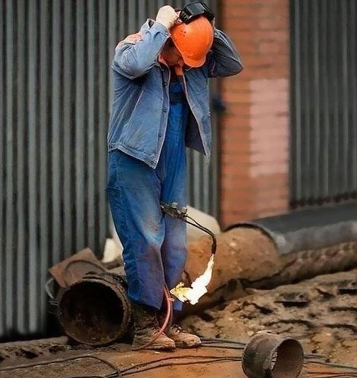 CON GAS EN LUGAR FLAMABLE