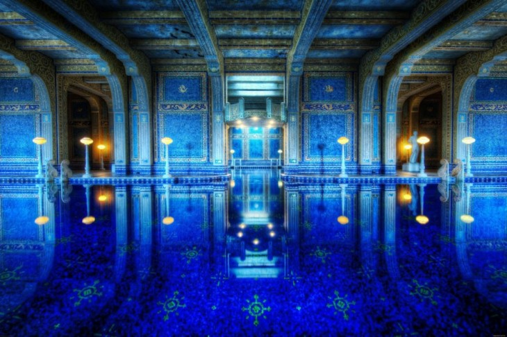 piscina del Castillo hearst, California