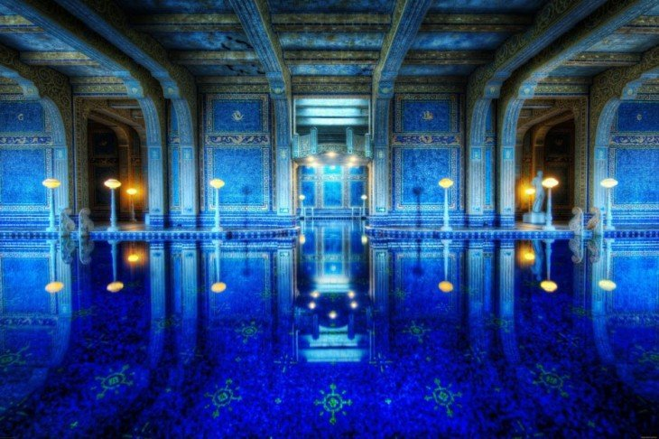 piscina del Castillo hearst, California