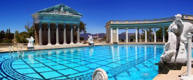 piscina Castillo hearst, California