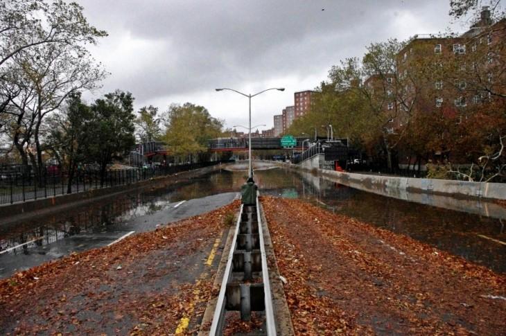 Resultado del huracán Sandy en Nueva York