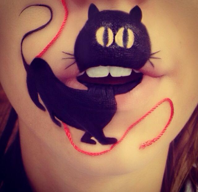 Laura Jenkinson gato negro