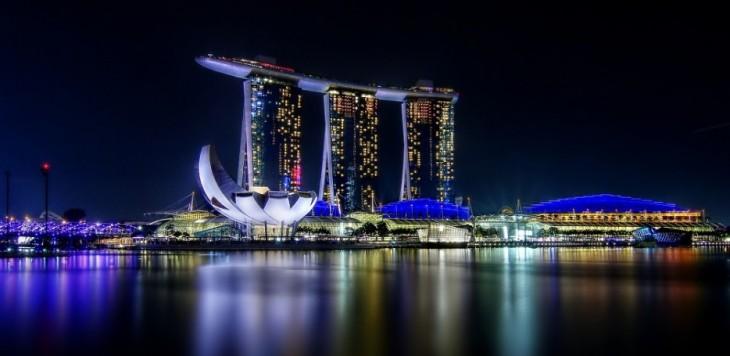 torres de la marina bay singapur
