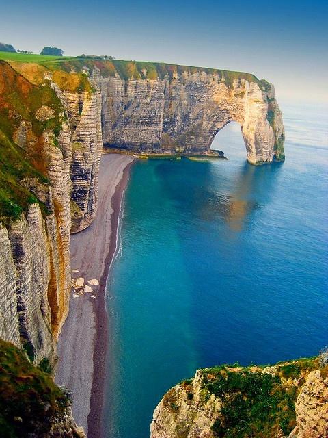 acantilados del mar