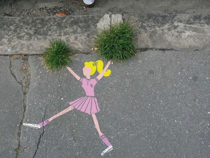 arte en la calle animadora