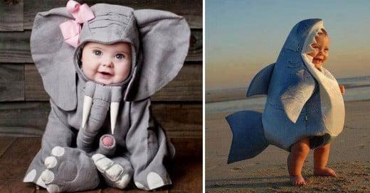 imagenes de bebes disfrazados de animales