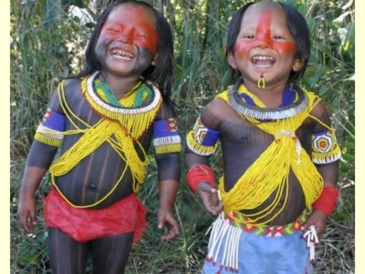 niños jugando en brasil