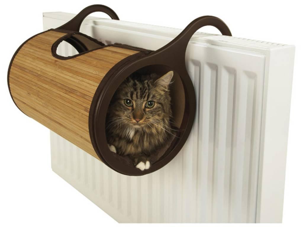 Casas y muebles dise ados para los amantes de los gatos for Cama para gatos
