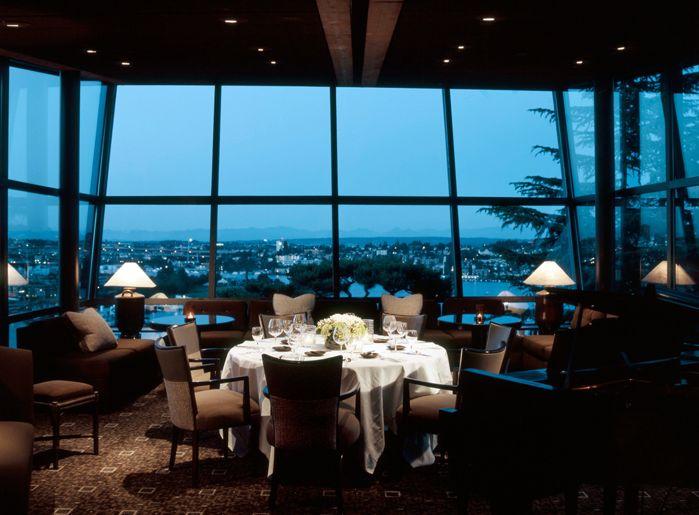 Los 30 mejores restaurantes con las mejores vistas del for Best private dining rooms seattle