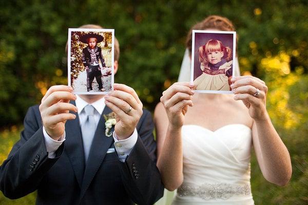 fotos de los novios de niños