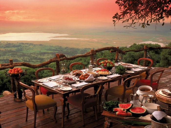 Restaurante en Tanzania