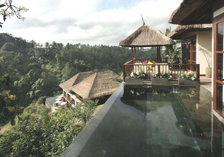 piscina del hotel Ubud Hanging Gardens