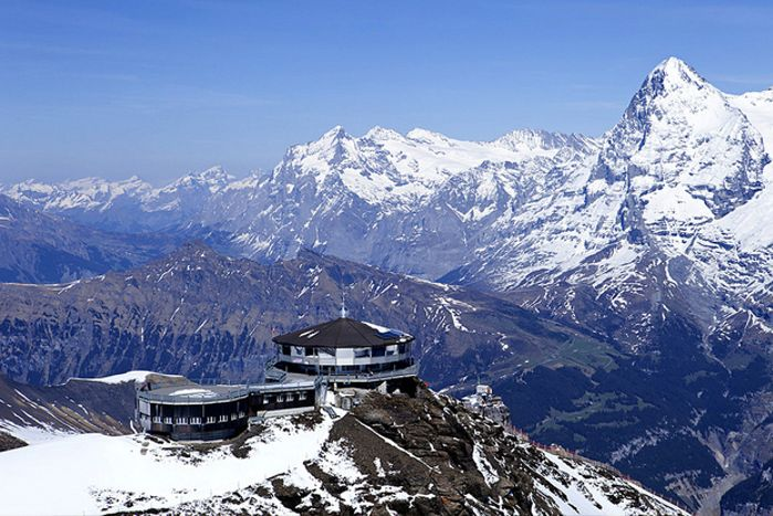 Piz Gloria in Mürren, Suiza
