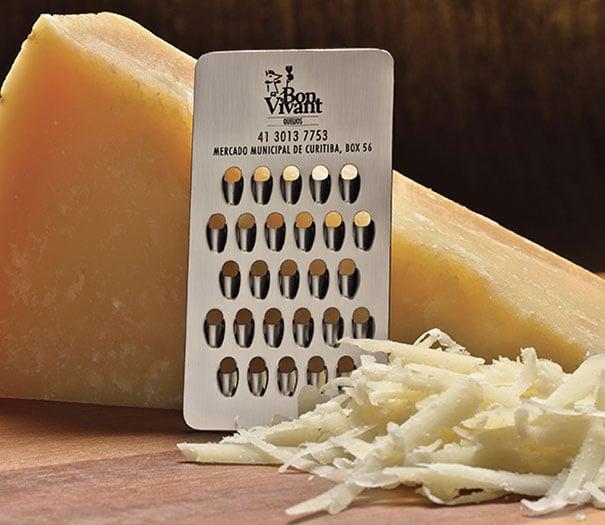 promocion creativa Rayador de quesos