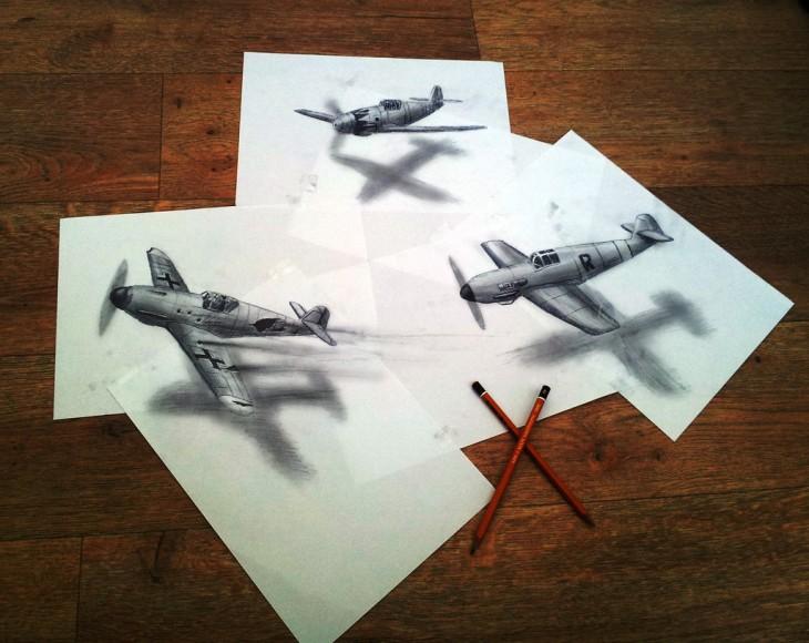 ramon bruin 3d aviones de guerra