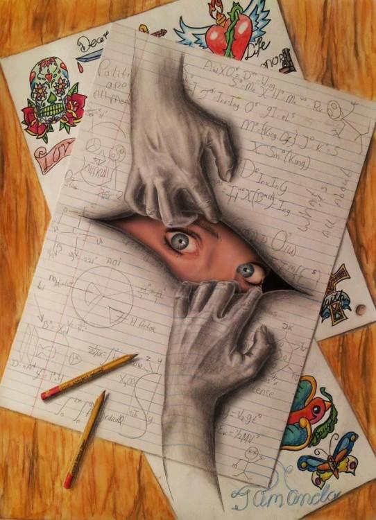 ramon bruin 3d ojos azules