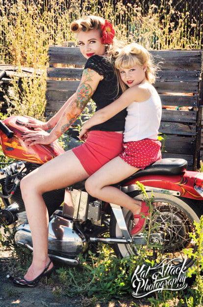 una vuelta en la moto