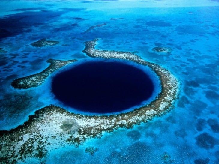 hoyo azul