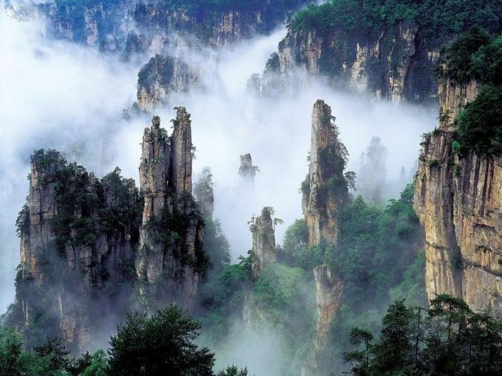 montañas de china