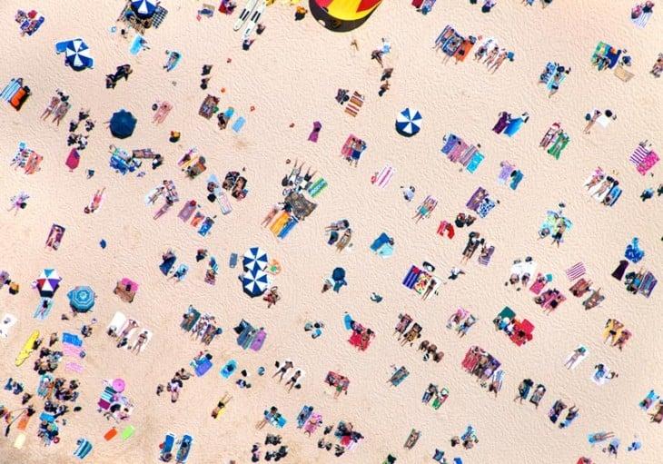 toma de la playa de Sidney