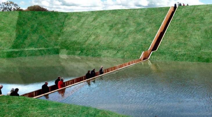 El puente de Moisés, Países Bajos