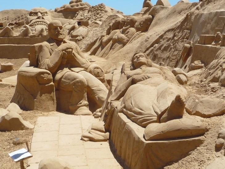 Festival internacional de esculturas de arena, Portugal